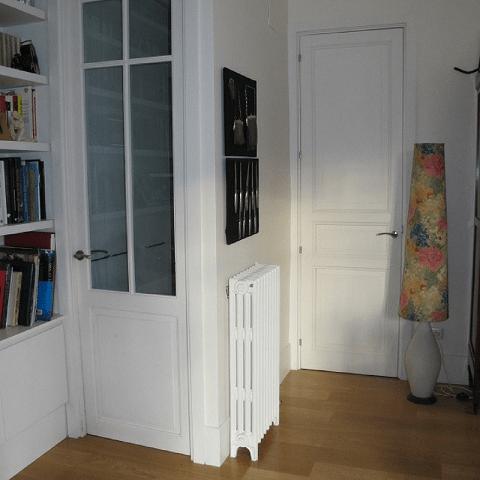 reutilizar puertas y radiadores