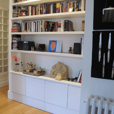 librería escayola diseño interiores reformas decoración