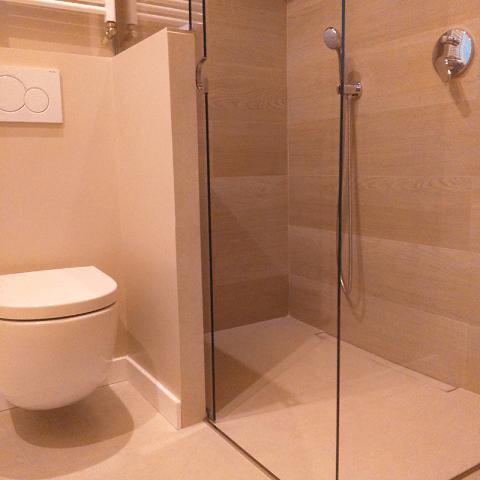 baño plato ducha obra diseño interiores reformas decoración
