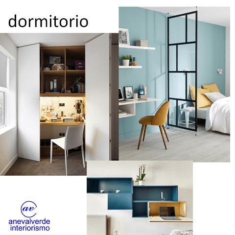 oficina casa diseño resimercial dormitorios armarios