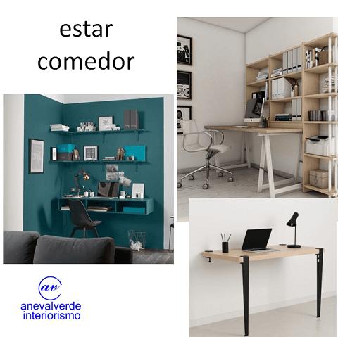 oficina casa diseño resimercial mesas trabajo salón comedor